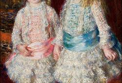 Obra 'Rosa e Azul', de Renoir, deixará MASP em 2020 para ser restaurada
