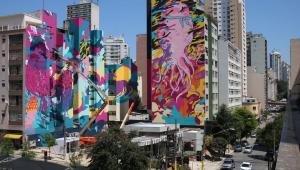 Conpresp libera continuação de 'Aquário Urbano', grafite gigante no centro de São Paulo
