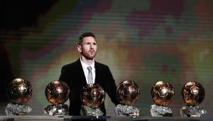 Messi ganhou seis vezes a Bola de Ouro