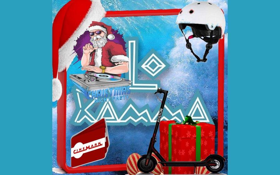 Papai Noel vai chegar mais cedo na Jovem Pan e Banda Lo Ramma,  concorra a um patinete, capacete, convites do Cinemark!