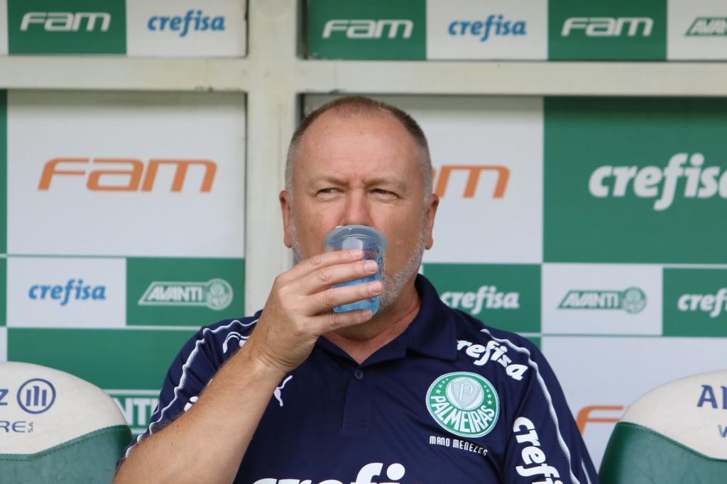 Resultado de imagem para Mano Menezes é demitido e não é mais técnico Palmeiras