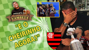 'E o cheirinho do Flamengo agora?' Vampeta é provocado e rebate