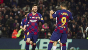 Messi ativa 'modo E.T', marca três e comanda goleada do Barça sobre o Mallorca