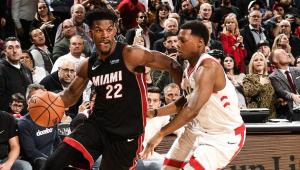 NBA: Heat vence na prorrogação e impõe 1ª derrota aos Raptors no Canadá