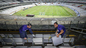 Mineirão avalia prejuízo de R$ 300 mil após quebradeira da torcida do Cruzeiro