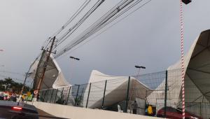 Vídeo: Estrutura de show infantil desaba e deixa mais de 30 feridos em Belém
