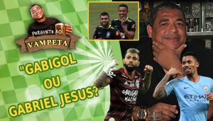 'Gabigol ou Gabriel Jesus?' Vampeta revela quem prefere