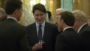 Macron, Trudeau e Johnson são flagrados em vídeo zombando de Trump