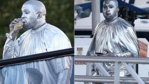 Kanye West aparece prateado na estreia de ópera em Miami