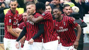 Rebic faz 2 gols e comanda virada do Milan sobre a Udinese no Italiano