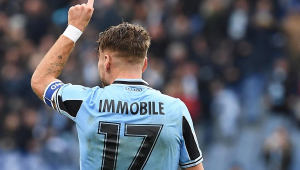 Immobile marca 3 gols, Lazio atropela a Sampdoria e amplia invencibilidade