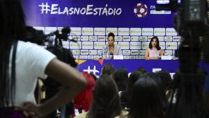 Federação Paulista lança ação para incentivar presença das mulheres nos estádios