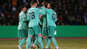 Sem brilho, Real Madrid vence time da 3ª divisão e vai às oitavas da Copa do Rei