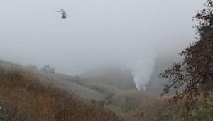 Vídeo mostra helicóptero de Kobe Bryant em chamas; assista