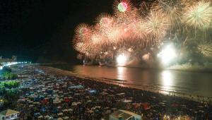 Virada do ano de 2019 para 2020 em Copacabana