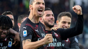 'Ibrahimovic revitalizou seus companheiros de Milan', afirma jornal italiano