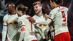 Com dois gols do artilheiro Timo Werner, RB Leipzig vence mais uma vez no Alemão