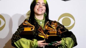 Billie Eilish domina principais categorias do Grammy