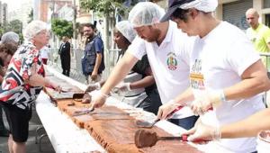 São Paulo, 466 anos — conheça a história do bolo gigante do Bixiga