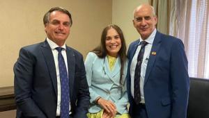 'Noivado': Regina Duarte aceita 'período de testes' na Secretaria da Cultura