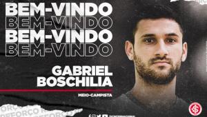 Internacional anuncia contratação de ex-são-paulino Gabriel Boschilia