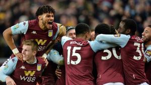 Aston Villa bate Leicester e volta à final da Copa da Liga após 10 anos
