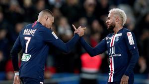 Neymar iguala recorde de Mbappé no PSG e já tem 20 participações em gols na temporada