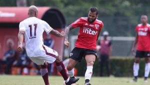 São Paulo perde por 1 a 0 em segundo jogo-treino da temporada