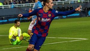 Griezmann faz 2 e Barcelona vira nos acréscimos contra time da 3ª divisão na Copa do Rei