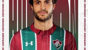 Fluminense anuncia a contratação de Hudson, emprestado pelo São Paulo