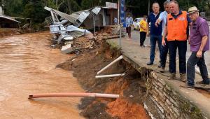 Espírito Santo: Defesa Civil mantém alerta de risco alto para chuvas