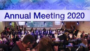 'O grande inimigo do meio ambiente é a pobreza', afirma Guedes em Davos