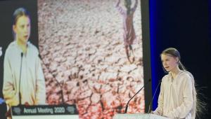 Greta acusa líderes mundiais de terem se rendido ao aquecimento global