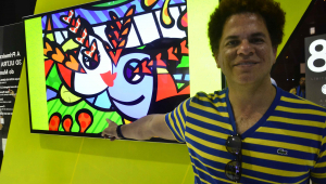 Em Davos, Romero Britto diz esperar que cultura brasileira esteja bem encaminhada