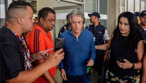 Jorge Jesus volta ao Brasil e fala sobre renovação com o Flamengo: 'Não haverá problema'