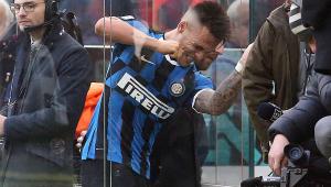 Lautaro marca, mas é expulso, e Inter de Milão tropeça pelo 3º jogo seguido