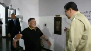 Maduro lamenta a morte de Maradona: 'Um irmão e amigo incondicional da Venezuela'