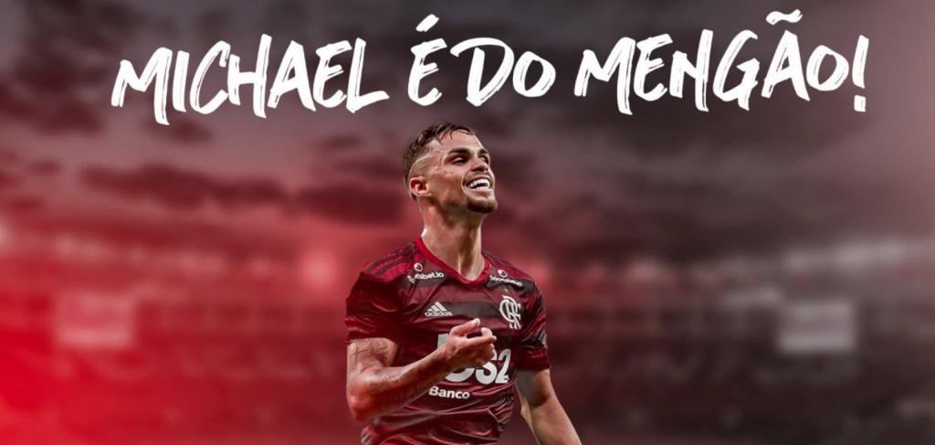 Flamengo Anuncia Oficialmente A Contratação De Michael