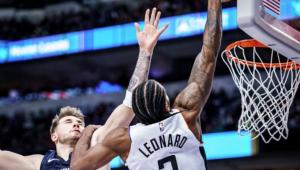 Em jogo com brilho de Kawhi e Doncic, Clippers derrotam Mavericks na NBA