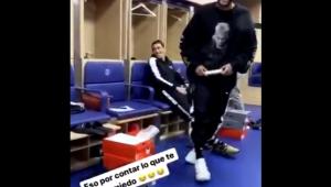 Neymar é zoado por companheiros argentinos do PSG; assista