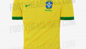 Vaza suposta nova camisa da seleção brasileira para a Copa América