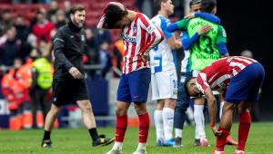 Em crise, Atlético de Madrid decepciona e só empata com vice-lanterna em casa