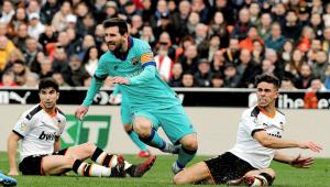 Barcelona joga mal e perde para o Valencia fora de casa