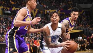 Fultz brilha com 'triple-double' e Magic encerra série de 9 vitórias dos Lakers