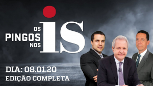 Os Pingos Nos Is - 08/01/20 -