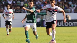 Palmeiras e São Paulo fazem clássico movimentado, mas empatam sem gols