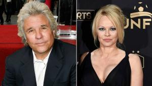 Pamela Anderson se casa com produtor que namorou há 30 anos