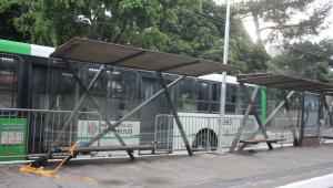 Ponto de onibus Avenida Rio Branco