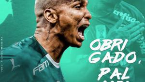 De saída, Deyverson agradece Palmeiras: 'Hoje digo um até breve'