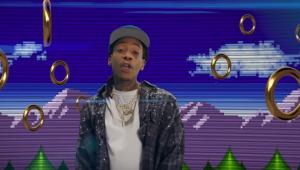 Wiz Khalifa lança clipe doido para música do filme do Sonic; assista